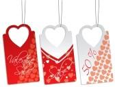 8571333-heart-shape-label-set
