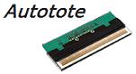 Autotote Extrema Reader - 100 DPI printhead