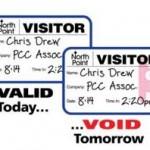 void label badge