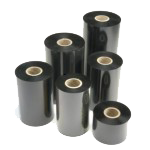 "Zebra Fabric Care Ribbon (2.52"" x 1476', Resin, Black, CSO, 24 rolls/case)"