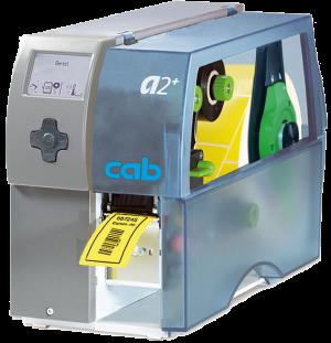 CAB A2+/600DPI-TT/DT, with internal rewind / no present sensor