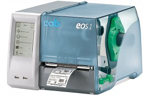 CAB EOS1 Label Printer 200DPI with Tear Off Edge