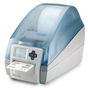 CAB MACH4 Label Printer 600DPI with Peel Dispenser