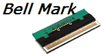 Near-Edge Printhead for Bell Mark printhead