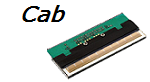 "Cab A4  4"" 203dpi Printhead"