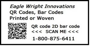 QR code 2D bar code